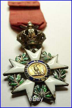 Ordre de la LEGION d'HONNEUR, chevalier en argent 37 mm, 1er empire, / 0001