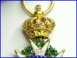 Ordre de la LEGION d'HONNEUR, demi-taille 22mm, en or, 1er empire, tres rare