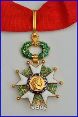 Ordre de la Légion d'Honneur, Commandeur V° République, vermeil
