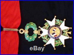 Ordre de la Légion d'Honneur Vem République commandeur