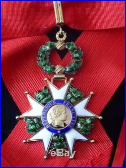 Ordre de la Légion d'Honneur Vem République commandeur Bijoutier