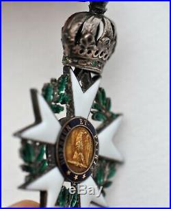 Ordre de la Légion d'Honneur, chevalier, 1er Empire, 3° type