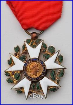 Ordre de la Légion d'Honneur, chevalier, 1er type, bronze doré