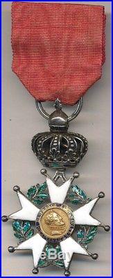 Ordre de la Légion d'Honneur chevalier restauration