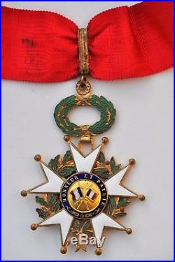 Ordre de la Légion d'Honneur, commandeur en bronze doré, 4° République 1945-1954