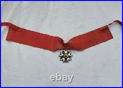 Ordre de la Légion d'Honneur, commandeur en bronze doré, II° République