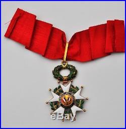 Ordre de la Légion d'Honneur, commandeur en or, III° République, 1870