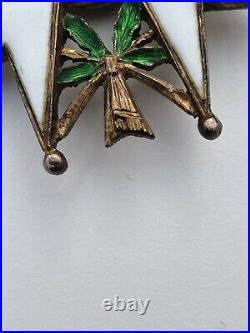 Ordre de la Légion d'Honneur, commandeur en vermeil, dans son écrin