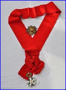 Ordre de la Légion d'Honneur, ensemble de Grand Croix, V° République
