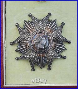 Ordre de la Légion d'Honneur, ensemble de Grand Officier, III° République