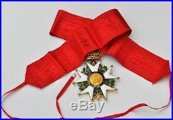 Ordre de la Légion d'Honneur, étoile de commandeur en or, Second Empire