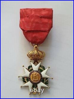 Ordre de la Légion d'Honneur, officier, Second Empire, or