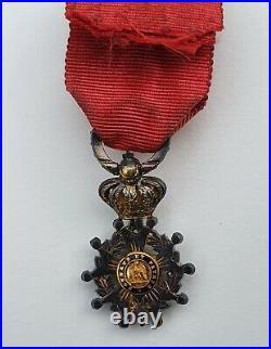 Ordre de la Légion d'Honneur, officier, Second Empire, réduction en diamants