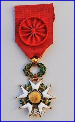 Ordre de la Légion d'Honneur, officier en or, III° République