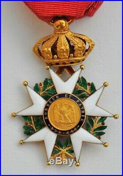Ordre de la Légion d'Honneur, officier en or, Second Empire
