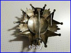Ordre de la Légion d'Honneur, plaque de Grand Croix en argent, III° République