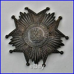 Ordre de la Légion d'Honneur, plaque de grand croix, Second Empire