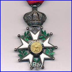 Ordre de la Légion dhonneur chevalier second empire à double filets