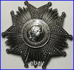 Ordre de la Légion dhonneur, plaque quatrième république