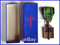 Ordre de la Libération modèle de Londres avec sa boite originale