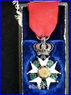 Ordre de la légion d'honneur Napoléon III Présidence chevalier écrin