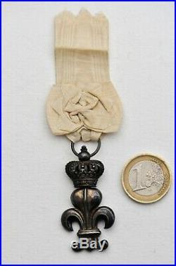 Ordre du Lys, Restauration 1814, très gros module