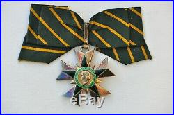 Ordre du Mérite Combattant, commandeur en vermeil