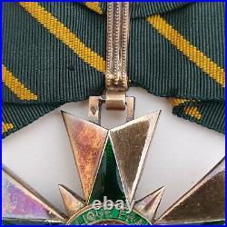 Ordre du Mérite Combattant, croix de commandeur en vermeil