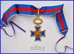 Ordre du Mérite Militaire, commandeur en vermeil et émail