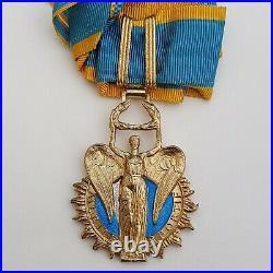 Ordre du Mérite Sportif, croix de commandeur en vermeil