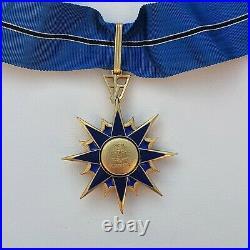 Ordre du Mérite du Ministère de l'Intèrieur, étoile de commandeur en vermeil