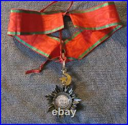 Ordre du medjidie, magnifique étoile de 3e classe (commandeur)