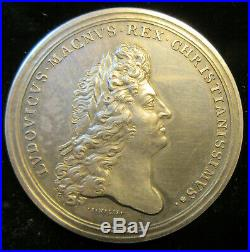 Ordre militaire de Saint Lazare de Jérusalem rare médaille argent Restauration