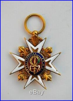 Ordre militaire de Saint Louis, chevalier, Louis XVI