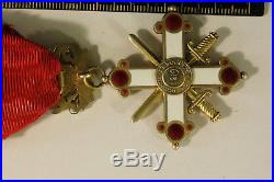 Ordre (officier)+ Insigne LETTONIE RARE