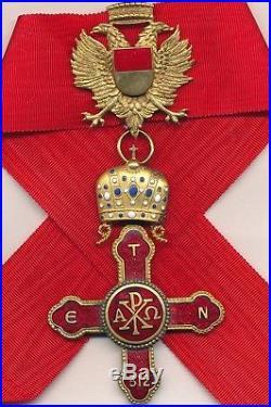 Ordre privé Constantinien de Saint Georges, croix de commandeur