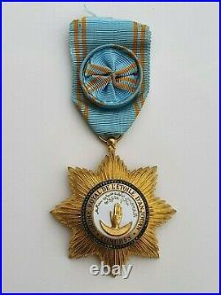 Ordre royal de l'Etoile d'Anjouan, étoile d'officier