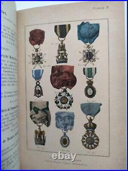 Ordres Decorations Medailles Livre Sculfort 1912 Musée de l'armée Ex-libris