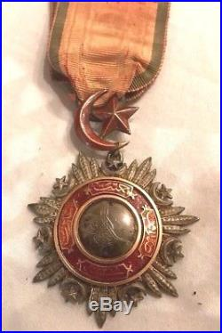 Ottoman Turkey Medal Order Of Medjidie Ottoman Empire