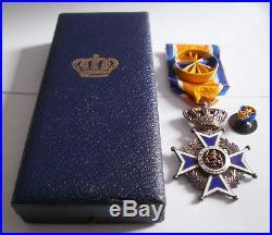 PAYS BAS Médaille Ordre d'Orange Nassau Nederland Order of étranger Décoration