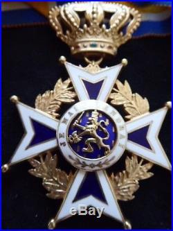Pays Bas Ordre Orange Nassau Commandeur