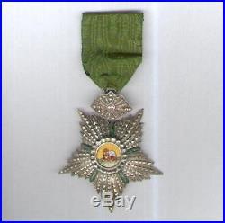 Perse Ordre Impérial du Lion et du Soleil 4ème classe