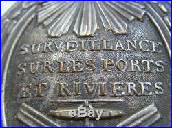 Plaque De Garde Des Ports Et Des Rivieres Revolution