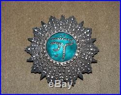 Plaque De L' Ordre Du Nichan Ifthikar
