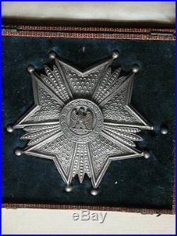 Plaque de Dignitaire ou de Président Associations de l' Empire Napoléon Ier