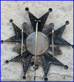 Plaque de Grand Officier Legion d'Honneur Restauration