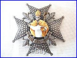 Plaque de g. C saint janvier royaume de naples et de sicile