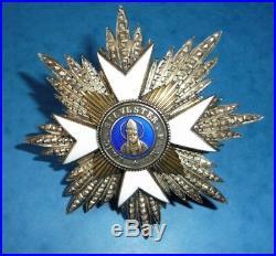 Plaque de l'Ordre de Saint Sylvestre