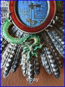 Plaque du Dragon d'Annam