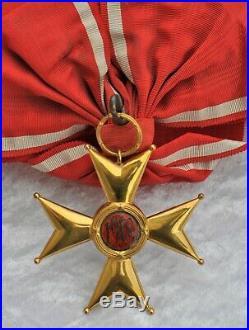 Pologne Ordre de la Pologne Restaurée 1918, bijoux de Grand Croix